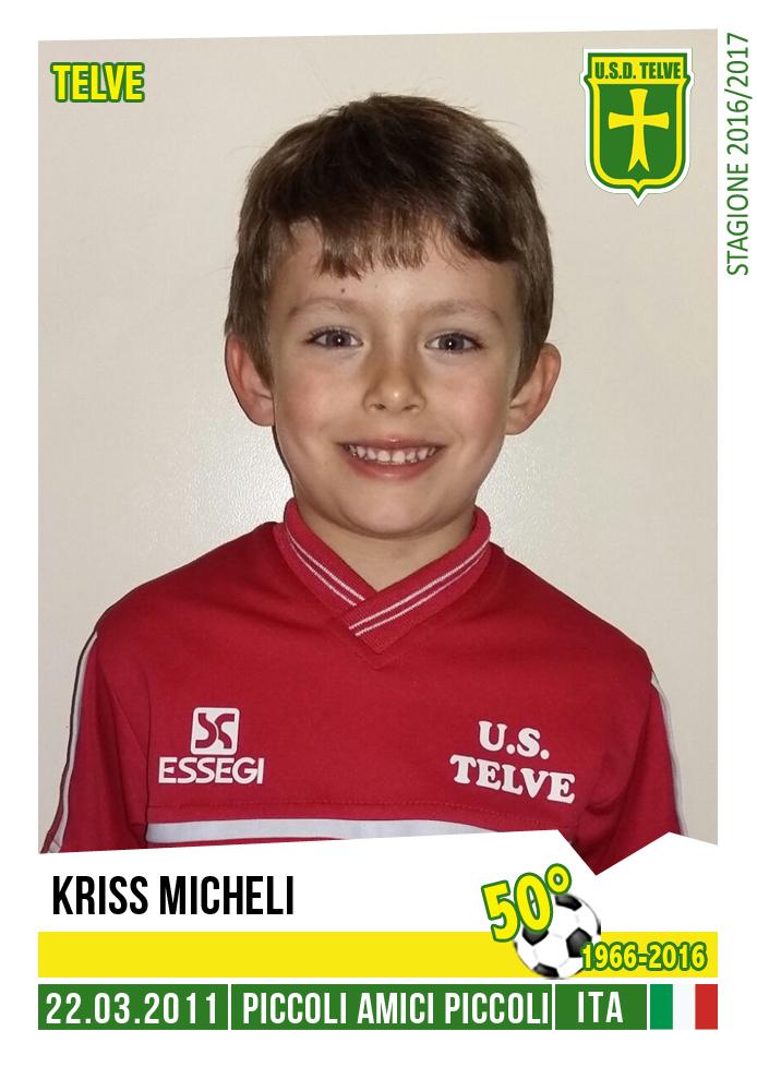 KRISS MICHELI