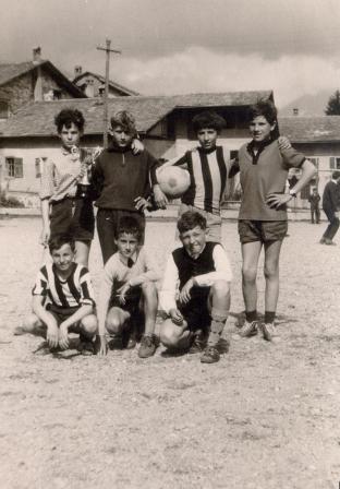 calcio scuola anni 60