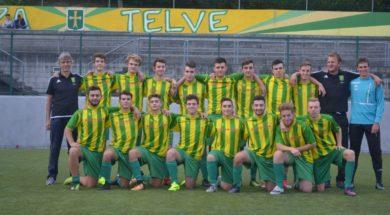 squadra Juniores gialloverde