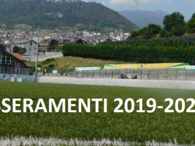tesseramenti 2019-2020
