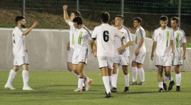 Telve-Borgo esultanza gol Zanetti