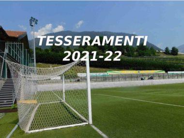 tessreamenti 2021-22